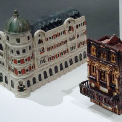 ceramic model buildings