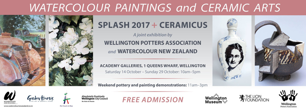 splash and ceramicus 2017 banner