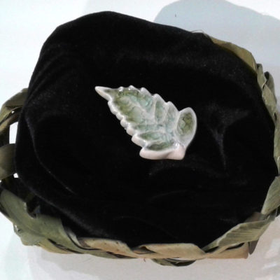 fern brooch