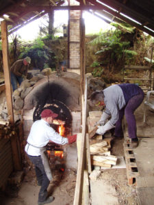 passing wood for kiln