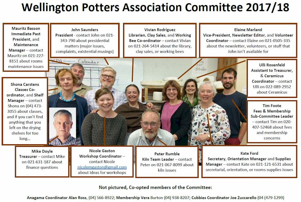photo of named committee members