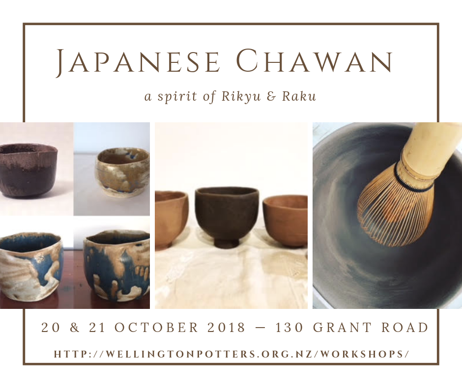 Japanese Chawan - 20 & 21 October Workshop