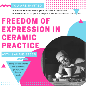 Laurie Steer workshop flyer