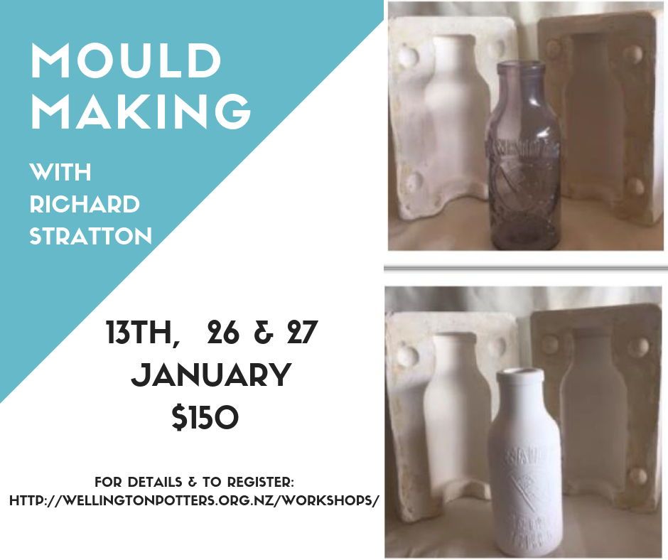 Mould making workshop flyer