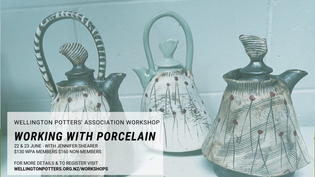 porcelain workshop flyer