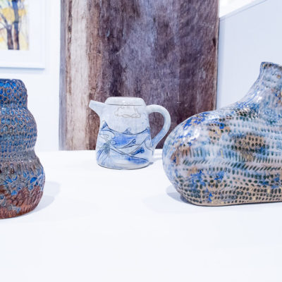 jug and vases